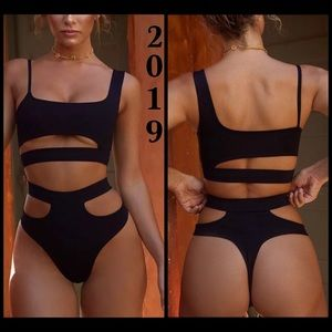 Other - BNWT-2019 Sexy 2 Piece Cutout Swimsuit